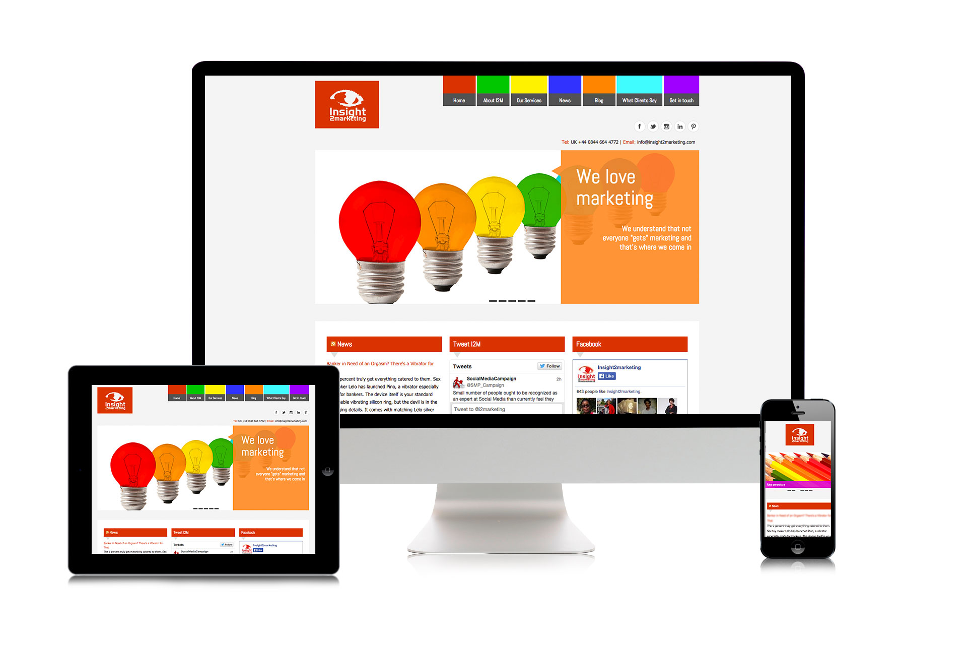 I2M Responsive Website Design
