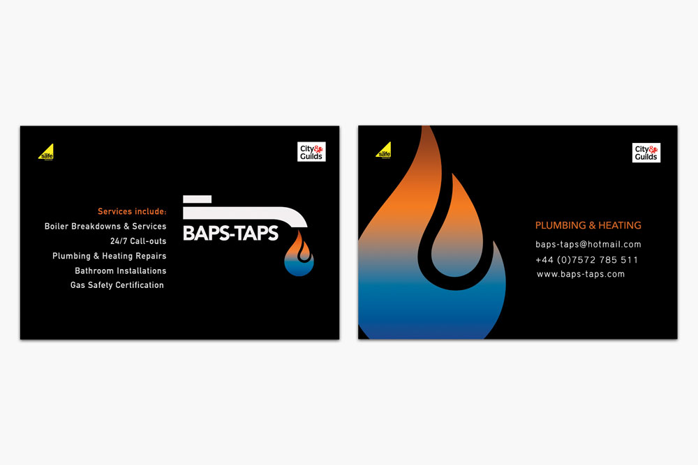baps-taps-business-cards